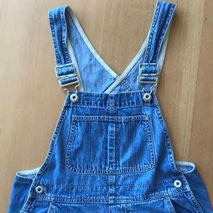 Gap jean denim overalls Size XS